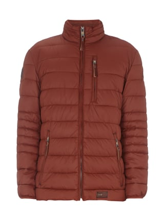 Steppjacke mit Stehkragen Orange - 1
