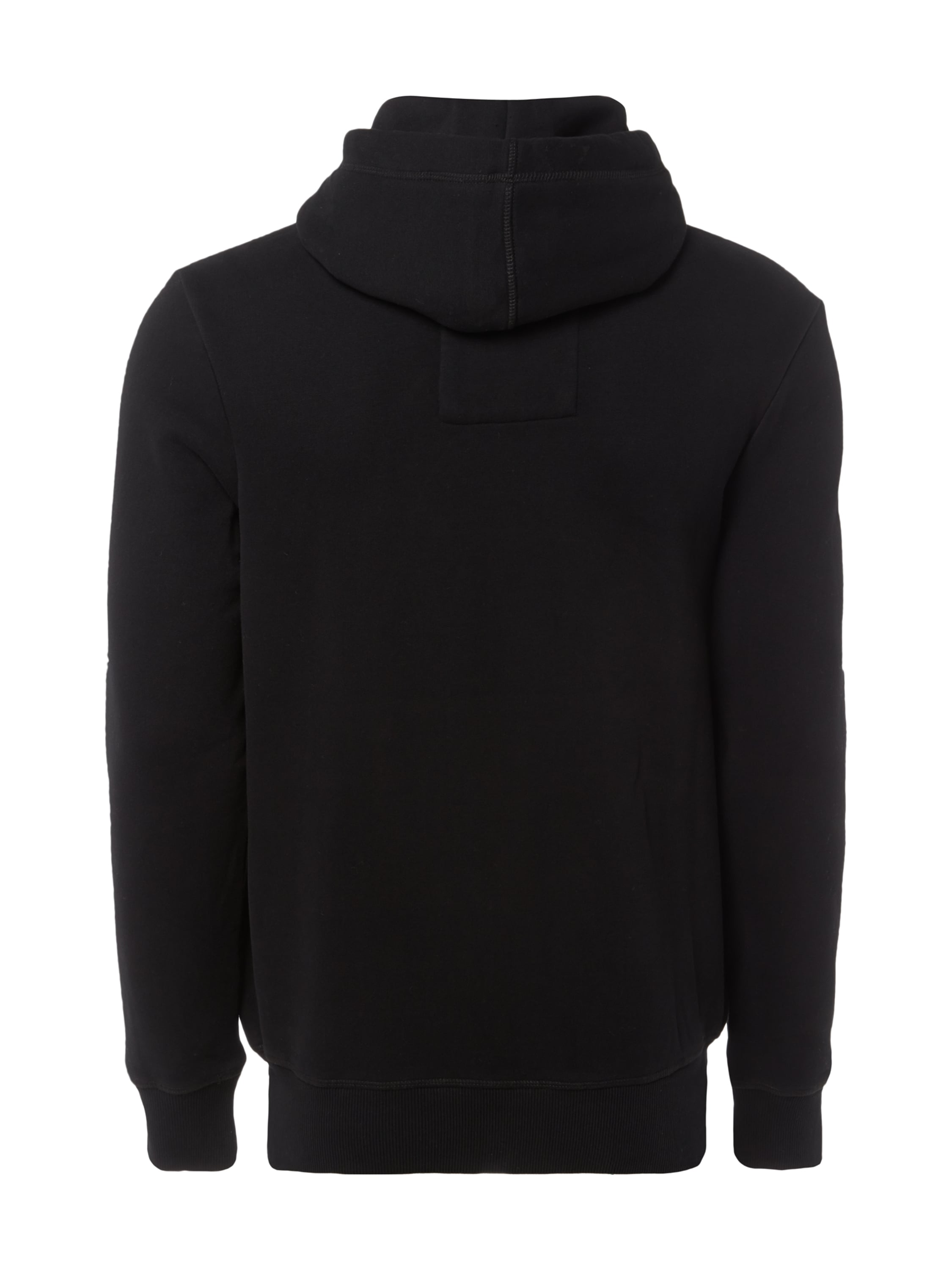 camp david hoodie mit gro er logo stickerei in grau schwarz online kaufen 9571748 p c. Black Bedroom Furniture Sets. Home Design Ideas