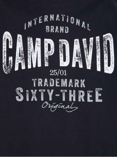 Hoodie mit Label-Print Camp David online kaufen - 1