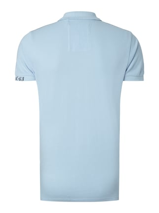 Camp David Poloshirt mit Logo-Stickereien Hellblau - 1