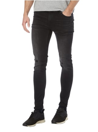 Cheap Monday 5-Pocket-Jeans im Used Look Dunkelgrau - 1