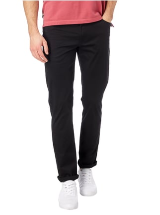 Christian Berg Men 5-Pocket-Hose mit Stretch-Anteil Schwarz - 1