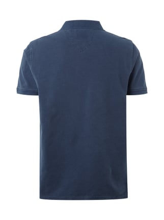Christian Berg Men Poloshirt im Washed Out-Look Marineblau - 1