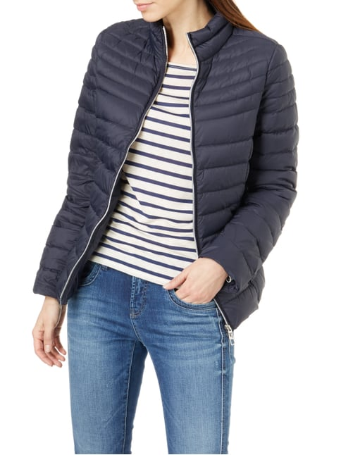 Christian Berg Woman Selection Light-Daunenjacke mit Steppungen Dunkelblau - 1