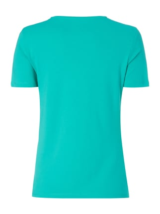 Christian Berg Women Shirt mit 1/2-Arm Metallic Grün - 1