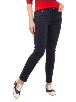 Christian Berg Woman Slim Fit 5-Pocket-Hose mit Stretch-Anteil Dunkelblau - 1