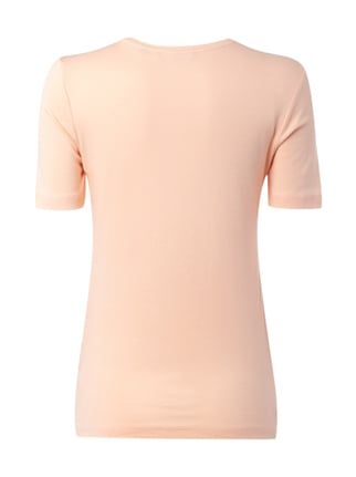 Christian Berg Woman T-Shirt mit Message-Print Apricot - 1