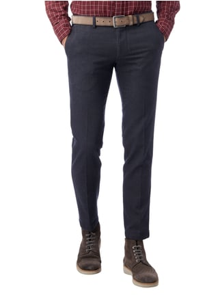 Cinque Slim Fit Chino mit Tunnelzug Marineblau - 1