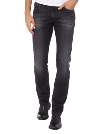 Cinque Stone Washed 5-Pocket-Jeans Anthrazit - 1