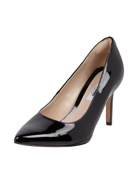 Pumps in Lackoptik Grau / Schwarz - 1