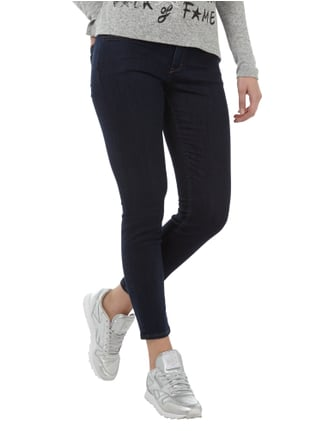Closed Rinsed Washed Skinny Fit Jeans Dunkelblau - 1