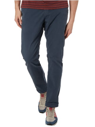 Closed Slim Fit Chino aus Baumwoll-Elasthan-Mix Dunkelblau - 1