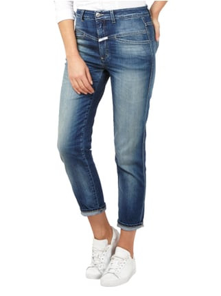 Closed Stone Washed High Waist Jeans mit Ziernaht Jeans - 1