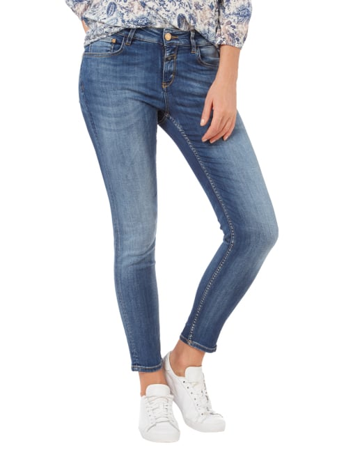 Closed Stone Washed Skinny Fit Jeans Dunkelblau - 1