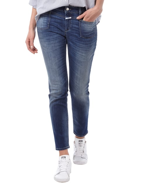 Closed Stone Washed Slim Fit Jeans mit verkürztem Bein Jeans - 1