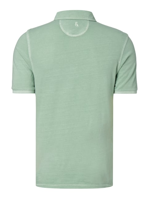 Colours & Sons Poloshirt im Washed Out Look Mint - 1