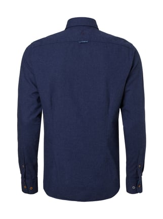 Colours & Sons Slim Fit Freizeithemd mit Button-Down-Kragen Blau - 1