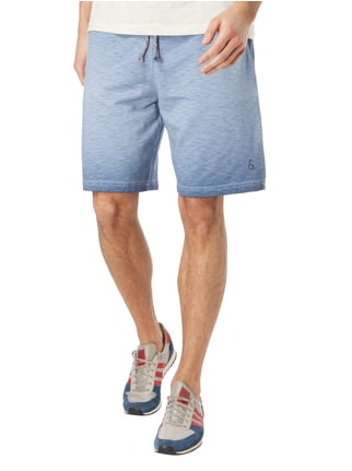 Colours & Sons Sweatshorts im Vintage Look Dunkelblau - 1