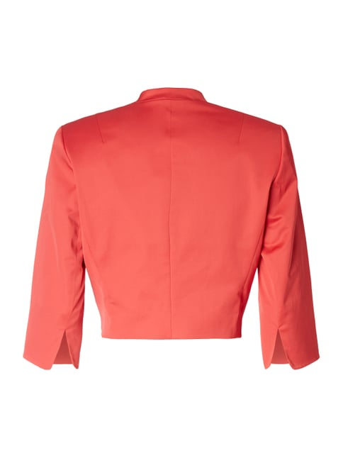 comma Bolero aus Satin Rot - 1