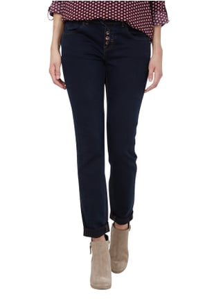 comma Casual Identity One Washed Boyfriend Jeans Jeans - 1