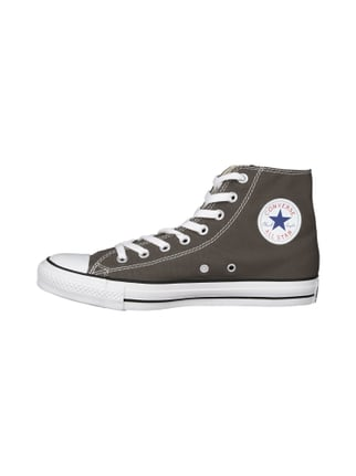 Converse Chucks mit Logoprint Anthrazit - 1