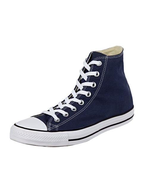 High Top Sneaker aus Canvas Blau / Türkis - 1