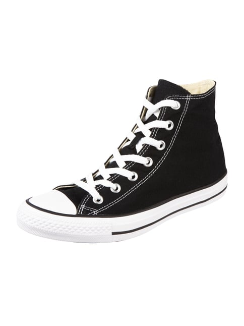 High Top Sneaker aus Canvas Grau / Schwarz - 1