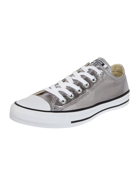 Sneaker 'All Star' in Metallicoptik Grau / Schwarz - 1