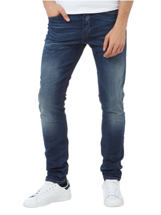 Diesel Double Stone Washed Slim-Carrot Fit Jeans Jeans - 1