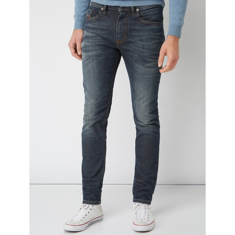 DIESEL Old Blue Washed Slim-Skinny Fit Jeans