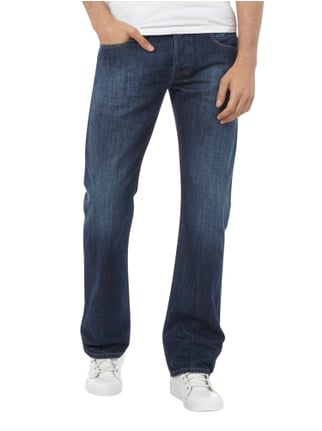 Diesel Regular Bootcut Jeans im Stone Washed Look Jeans - 1