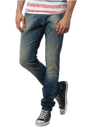 Diesel Slim-Carrot Fit Jeans im Destroyed Look Jeans - 1