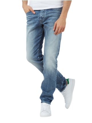 Diesel Stone Washed Regular Slim-Tapered Fit Jeans Jeans - 1
