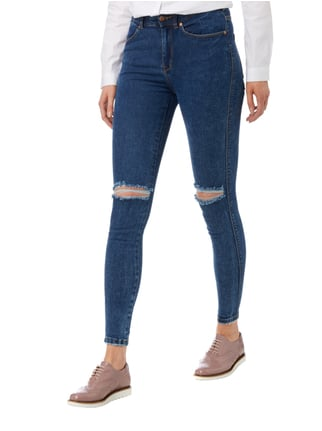 Dr. Denim Skinny Fit High Waist Jeans Dunkelblau - 1
