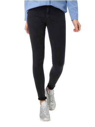 Dr. Denim Skinny Fit High Waist Jeans Dunkelgrau - 1