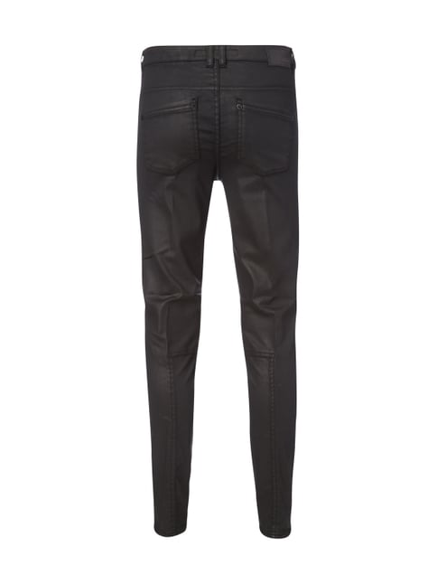 Drykorn Coated Skinny Fit Jeans Schwarz - 1