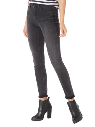 Drykorn Coloured High Waist Skinny Fit Jeans Mittelgrau - 1