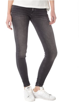 Drykorn Stone Washed Skinny Fit Jeans Dunkelgrau - 1