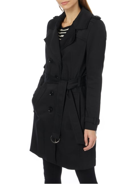 schwarze damen trenchcoats graue damen trenchcoats online. Black Bedroom Furniture Sets. Home Design Ideas