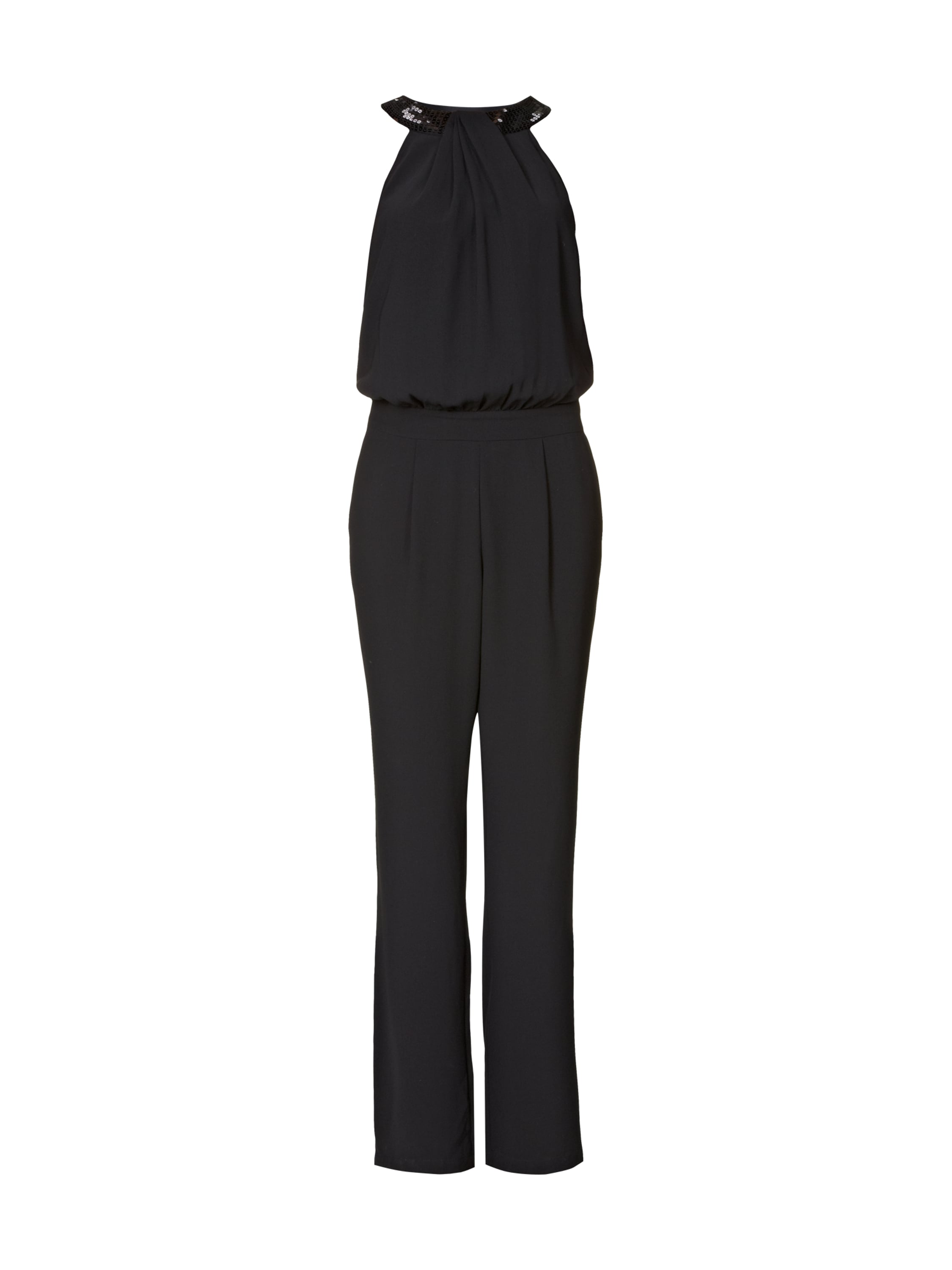esprit collection jumpsuit im 2 in 1 look in grau schwarz online kaufen 8925469 p c online. Black Bedroom Furniture Sets. Home Design Ideas