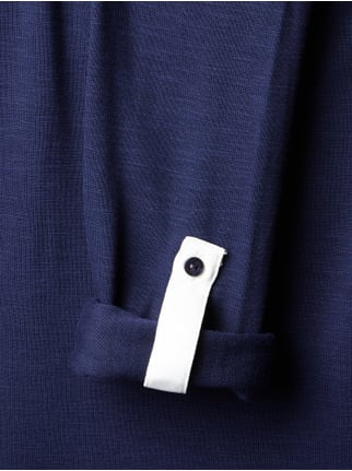 Esprit Collection Longsleeve im Layer-Look Marineblau - 1