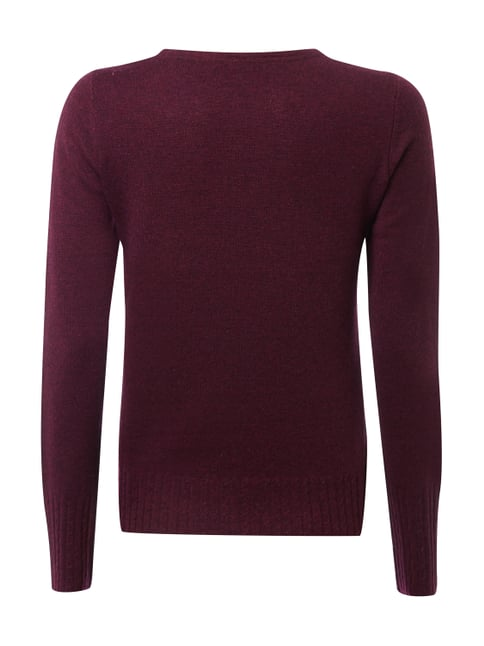 Esprit Collection Pullover aus Woll-Kaschmir-Mix Bordeaux Rot - 1