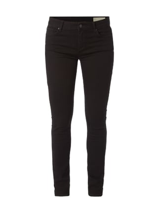 Coloured Skinny Fit Jeans Grau / Schwarz - 1