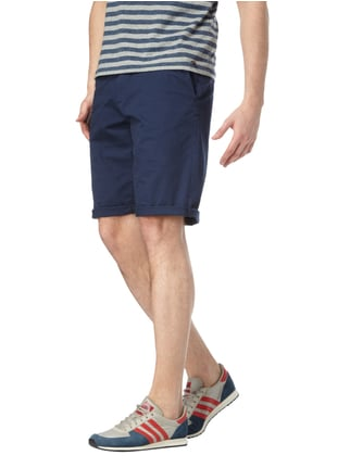Esprit Relaxed Fit Bermudas mit Stretch-Anteil Marineblau - 1