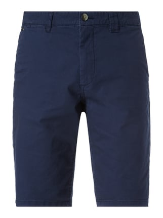 Relaxed Fit Bermudas mit Stretch-Anteil Blau / Türkis - 1