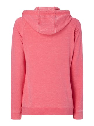 Esprit Sport Sweatjacke im Washed Out Look Pink meliert - 1