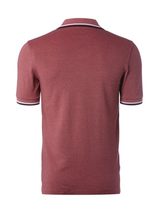 Fred Perry Poloshirt mit Logo-Stickerei Rot - 1