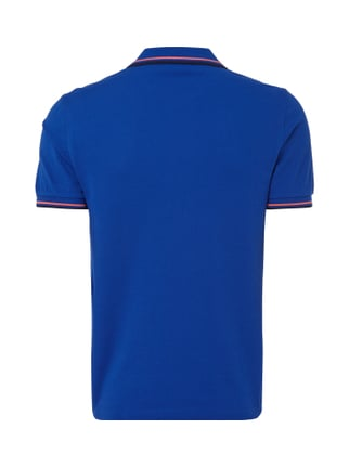 Fred Perry Poloshirt mit Logo-Stickerei Royalblau - 1
