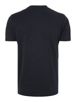 Fred Perry T-Shirt mit Logo-Stickerei Marineblau - 1