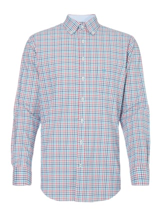 Casual Fit Hemd mit Button-Down-Kragen Rosé - 1